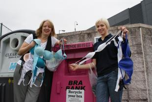 Japanese Companies Lure Women to Recycle Bras