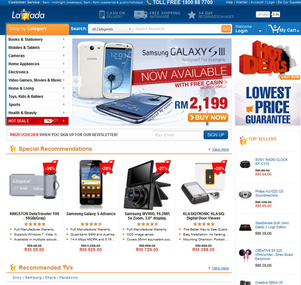 Lazada Malaysia - Growing Fast as The Largest Online